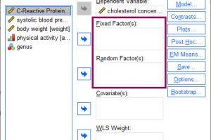 Fix or Random Factor 1 SPSS GraphPad.ir