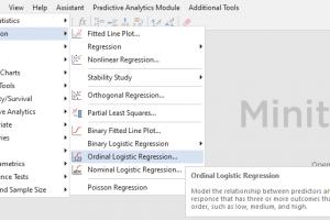 Ordinal Logistic Regression Minitab 1 GraphPad.ir