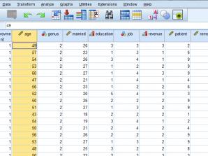 گروهبندی دادهها با استفاده از نرمافزار SPSS